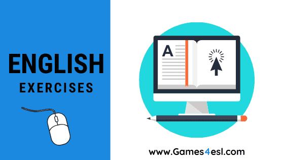 Week 19 English 8 – Exercise